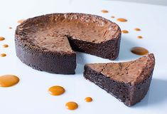 Smooth, rich and decadent. This indulgent cake is dense and boasts amazing chocolate flavours. Not unlike the fondant dessert with a liquid center, this