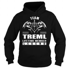 Team TREML Lifetime Member Legend - Last Name, Surname T-Shirt - #tee outfit #tshirt diy. Team TREML Lifetime Member Legend - Last Name, Surname T-Shirt, aztec sweater,sueter sweater. SECURE CHECKOUT =>...