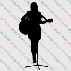 Pegame.es Online Decals Shop  #music #guitar #microphone #sing #live #vinyl #sticker #pegatina #vinilo #stencil #decal
