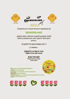 Wonderland: Incontriamoci!!!