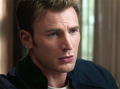 Steve Rogers <3 Look at that beautiful face!