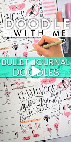 Awesome flamingo bullet journal doodles for ideas on how to make your bullet journal look cute! #bulletjournal #flamingobulletjournal #flamingodoodles #howtodrawflamingos #bulletjournalideas Bullet Journal Inspo, Bullet Journal Notebook, Bullet Journal Layout, Bullet Journal Ideas Pages, Bullet Journals, Flamingo Wallpaper, Flamingo Party, Planner Doodles, Bujo Doodles