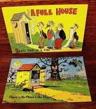 Image result for outhouses NZ 1940's