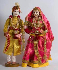Indian Wedding Dolls.....