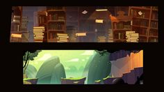 Visual development for video game Cartooning Character Design Game Design  Denis Spichkin Helsinki, Finland