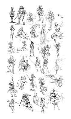 The 30 Characters Challenge by Alicechan.deviantart.com on @deviantART