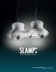 Slamp - ADV 2011 - Faretto Double White