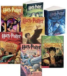 Harry Potter.  Read them or be sad.