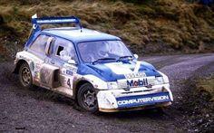 RAC Rally 1986 Tony Pond.