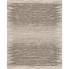 Shop allen + roth Francel Rectangular Cream Transitional Woven Area Rug (Common: 8-ft x 10-ft; Actual: 7.83-ft x 9.83-ft) at Lowes.com