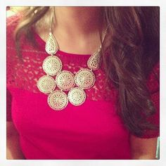 Stella & Dot - Medina Bib Necklace