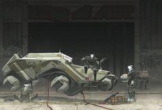 The Departure. by duster132 on DeviantArt | Digital Art / Drawings & Paintings / Sci-Fi