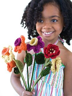 Always Blooming Bouquet crochet pattern