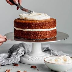 A Beautiful Plate ✨ Laura ( Eating Plans, Carrot Cake, Treat Yourself, Vanilla Cake, Carrots, Treats, Homemade, Plates, Snacks