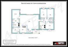 50 Idees De Plan Maison 100m2 Plan Maison 100m2 Maison 100m2 Plan Maison