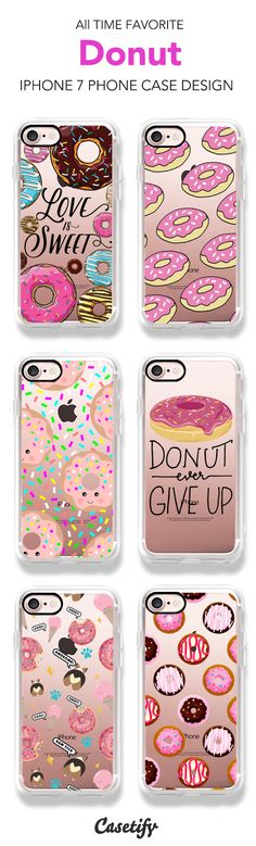 All Time Favorite Donut iPhone 7 and iPhone 7 Plus case. Shop them all here >    https://www.casetify.com/artworks/xmOWMJAK3w