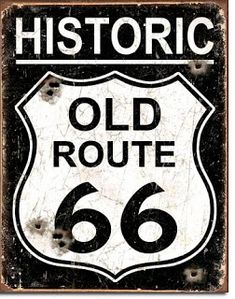 Route Metal Tin Sign Retro Wall Art Painting Poster Plaque Wall Art Plates For Pub Bar Home Decor Route 66 Wall Painting Decor Route 66 Sign, Old Route 66, Historic Route 66, Wall Stickers Home Decor, Wall Art Decor, Wall Plaques, Wall Signs, Beer Poster, Deco Originale