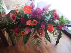 Beautiful arrangement by Distinctly Floral.