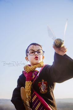 Check out this amazing Harry Potter inspired photo shoot by Brenda De Los Santos!