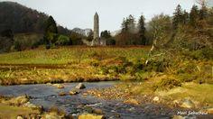 Glendalough Monastery.