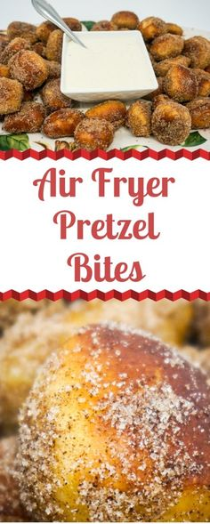 Air Fryer Cinnamon Sugar Pretzel Bites - Hi, mate! Today I want to share about the super cool Air-Fryer Recipes that i found on internet since last year @ Go Click The Pin For More Detailed Info @ I hope you love it :-] Air Fryer Chicken Wings Air Fryer Recipes Potatoes, Air Fryer Oven Recipes, Air Frier Recipes, Power Air Fryer Recipes, Air Fryer Chicken Tenders, Air Fryer Chicken Wings, Cinnamon Sugar Pretzels, Sauce Pizza, Cheese Sauce