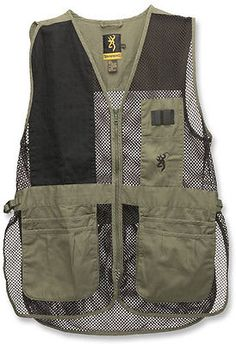 Vests 178080: Browning Trapper Creek Mesh Shooting Vests, Sage Black, 3Xl, Right : 3050265406 -> BUY IT NOW ONLY: $37.39 on eBay!
