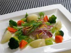 ぶりのボイルサラダ