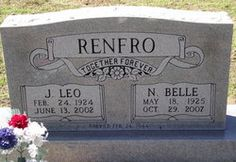 James Leo Renfro My Great Uncle in Bernie, Missouri.