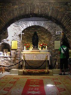 Virgin Mary's House  Ephesus Izmir Province Turkey