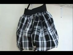 Como Hacer Una Falda Globo En 20 Minutos How To Make A Bubble Skirt In 2... Do not let the Spanish scare you - excellent tutorial!!!