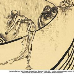 Destino (1945): | 9 Obras de Salvador Dalí que casi nadie conoce