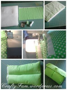 DIY Baby Shower Gift: Pillow sleeve. It's instead of a boppy pillow! Huh.
