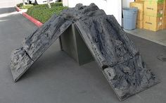 A rocking crawling course is an inexpensive way to attract customers into your store. There is not much maintenance involved and you could. Rc Car Track, Rc Rock Crawler, Radio Control, Rc Cars, Outdoor Projects, Scale Models, Cool Stuff, Attract Customers, Jeeps