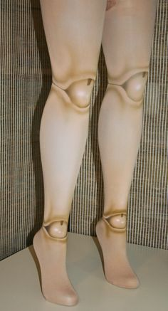 old fashioned- 2 sided ball joint doll tights