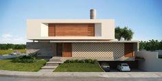 Casa IF - Cena 01: Casas modernas por Martins Lucena Arquitetura