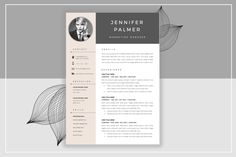 Resume Template & Cover Letter