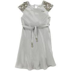 Liu Jo - Pearl grey silk dress - 33881
