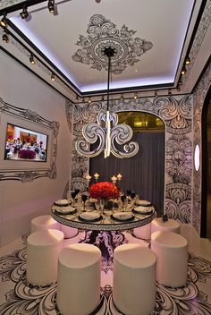 One of my favorite rooms from DIFFA's Dining by Design event this year.