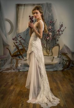 Elizabeth Fillmore's Elegant and Sophisticated Spring 2016 Bridal Collection