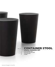 moooi container stool.