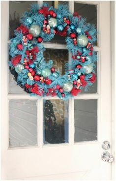 Christmas Crafts: A Winter vintage Wreath