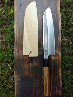 Santoku knife by Paweł Michalski Custom Knives