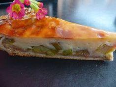 Verboten gut ⚠: Köstlicher Rhabarberkuchen mit Pudding ~ Schmand