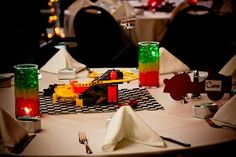 Wedding theme table Cars