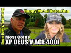 Digger Dawn & Twig the Dig - XP Deus V ACE most coins competition! Metal Detecting, Digger, Twiggy, Dawn, Competition, Coins, Rooms