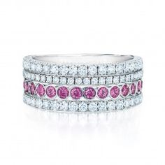 Birks Mother's Day | www.birks.com | Ring, Jewellery, Gift, Diamonds, Pink Sapphire, Unique, Celebration, Love