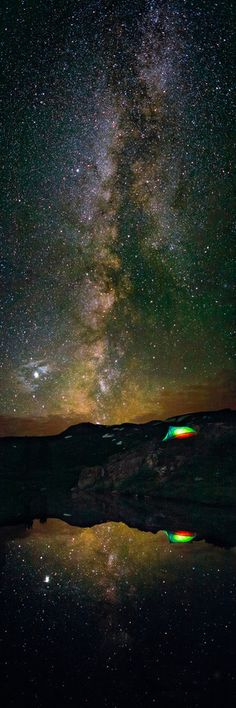 ✯ Camping under the Milky Way near Aspen Colorado :: Photography by Thomas OBrien ✯