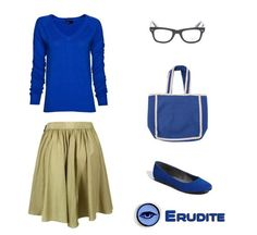 Erudite inspired blue. Possible premiere ideas? #Divergent