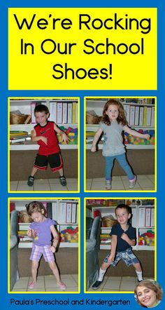 "See how this teacher had her kids ""Rocking In Their School Shoes"" like Pete the Cat, and how to turn it into a class book. Perfect for back to school!"