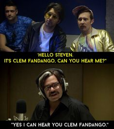 "And of course, this exchange every episode. | 18 Times ""Toast Of London"" Was Delightfully Weird And Wonderful"